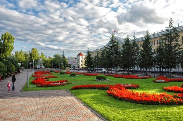 Novosobornaya Square, start